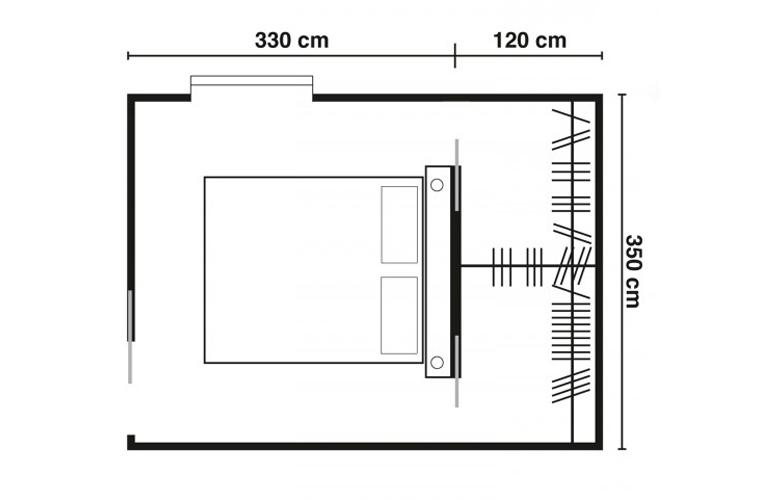 Cabina armadio dietro letto duylinh for - Camera da letto con cabina armadio e bagno ...