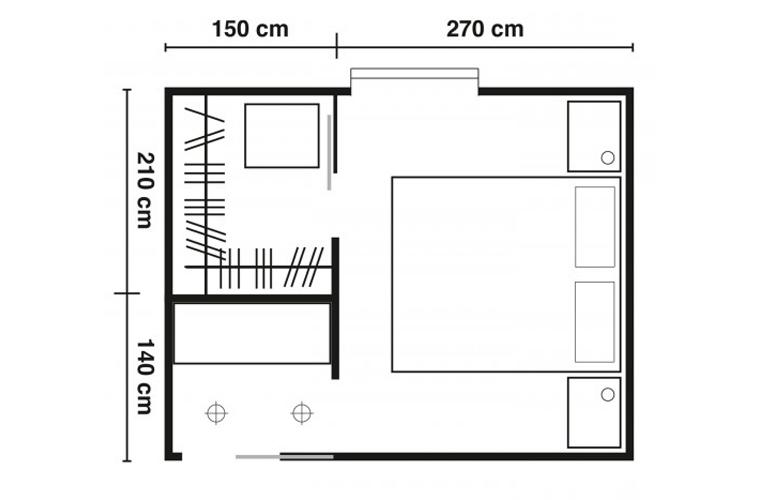 Come progettare e arredare una cabina armadio ohmydesign for Arredare una cabina armadio