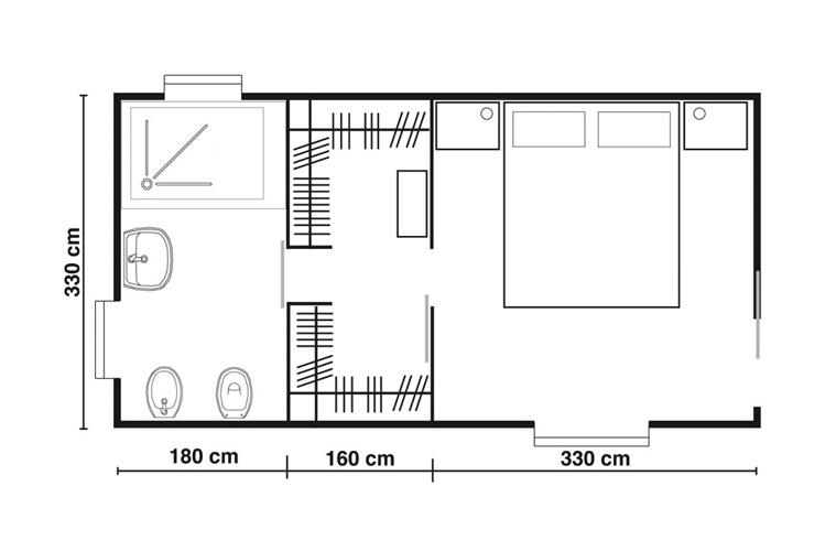 Bagno e cabina armadio camera tutte le immagini per la for Progettare una cabina di tronchi online