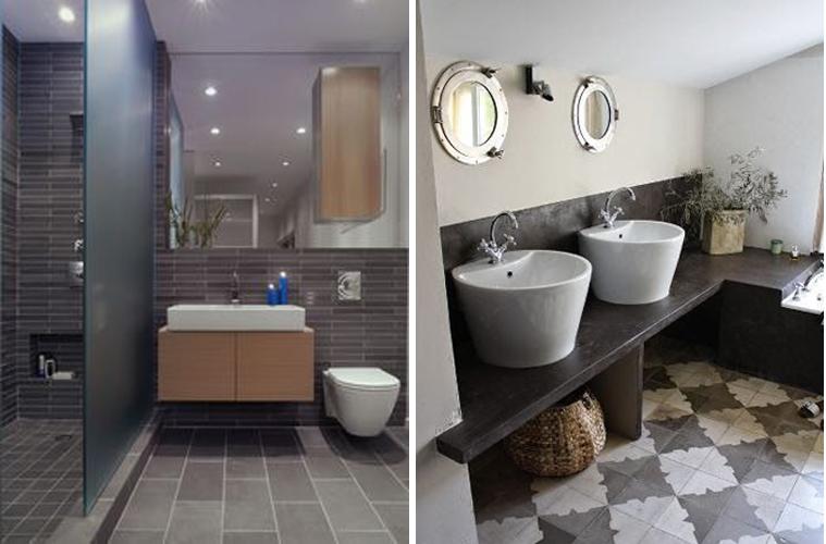 Idee per piastrellare un bagno ng47 regardsdefemmes - Piastrelle bagno decorate ...
