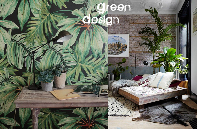 green design piante