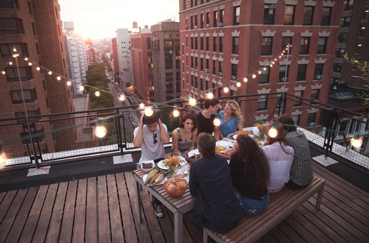 Festa in terrazzo 2