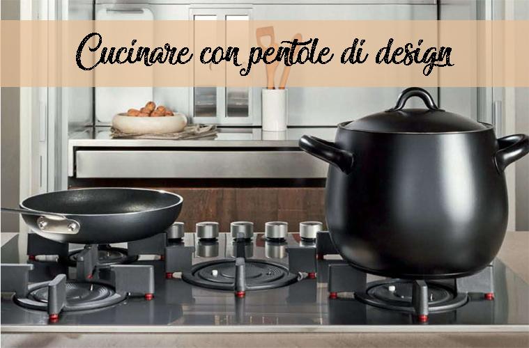 Funzionalità e design in cucina: le batterie di pentole Alessi ...