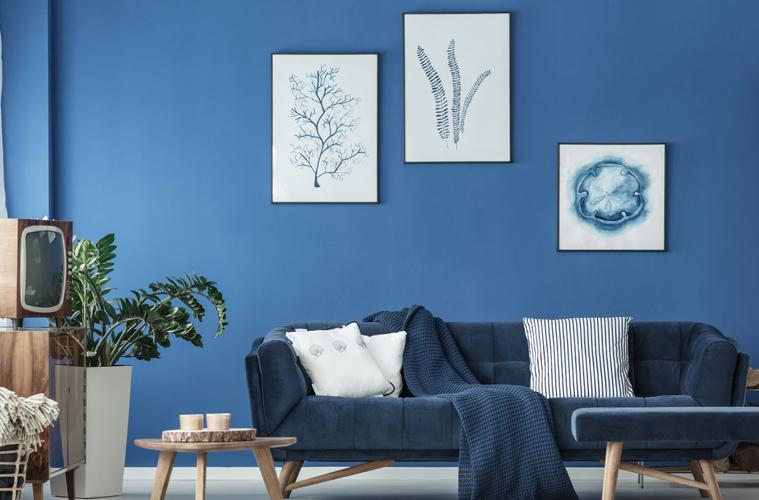 Classic Blue Living