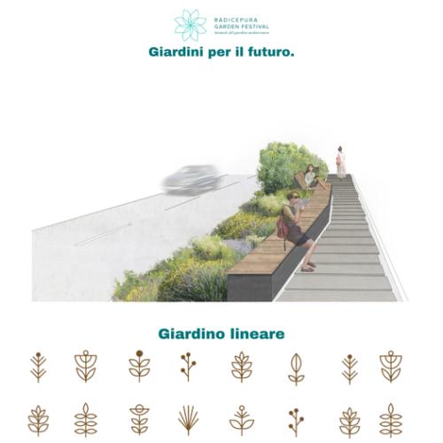 Giardini per il futuro: Giardino lineare