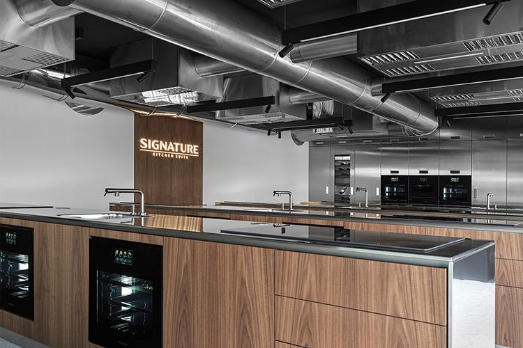 Sala per corsi di cucina Signature Kitchen Suite